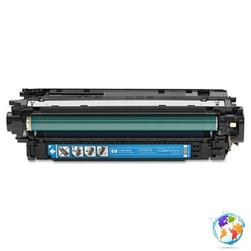 HP CF031A 646A Cyan Umplere HP Color LaserJet Enterprise CM4540f MFP