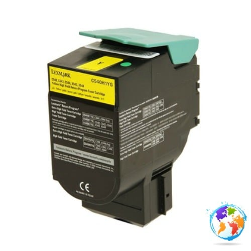 Lexmark C540H1YG Yellow Umplere Lexmark X548de