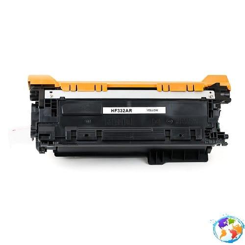 hp CF332A 654A Yellow Umplere HP Color LaserJet Enterprise M651n